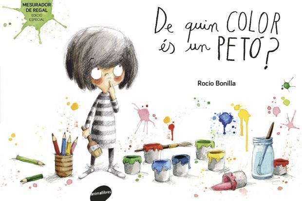 """""""De quin color és un petó?"""", Rocío Bonilla"""