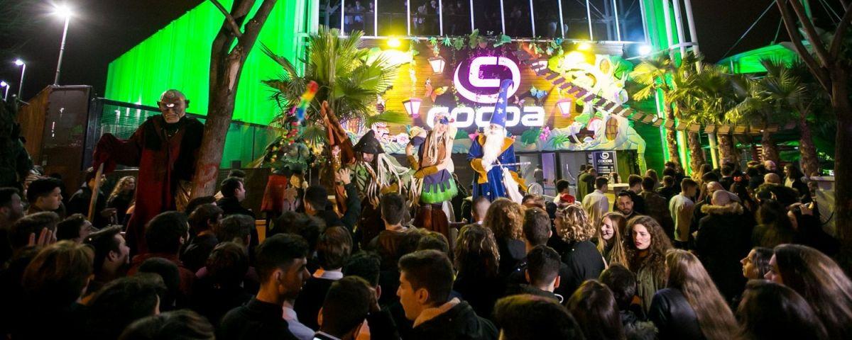 Exterior de la discoteca a Mataró. Foto: Cocoa