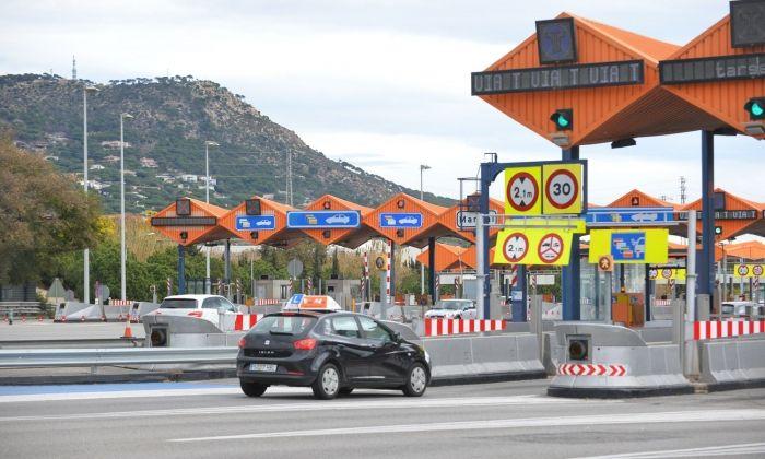 El peatge de la C32 a Vilassar de Dalt. Foto: R.Gallofré