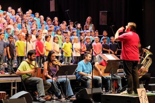 A la cantata La Clika hi participen infants de 1r i 2n de Primària