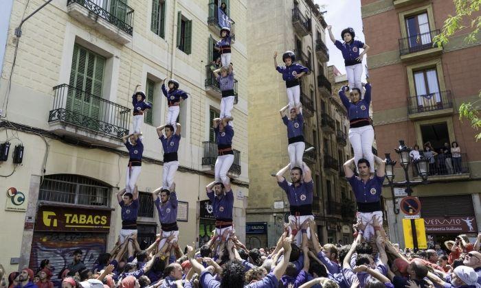 Capgrossos a Gràcia. Foto: X.Saborido