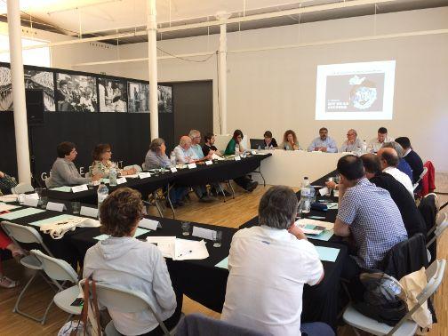 Un moment de la trobada. Foto: Ajuntament de Mataró