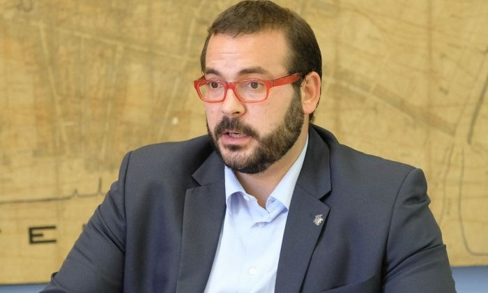 David Bote, alcalde de Mataró. Foto: R.Gallofré