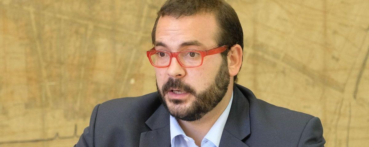 David Bote, alcalde de Mataró, en una imatge d'arxiu. Foto: R.Gallofré