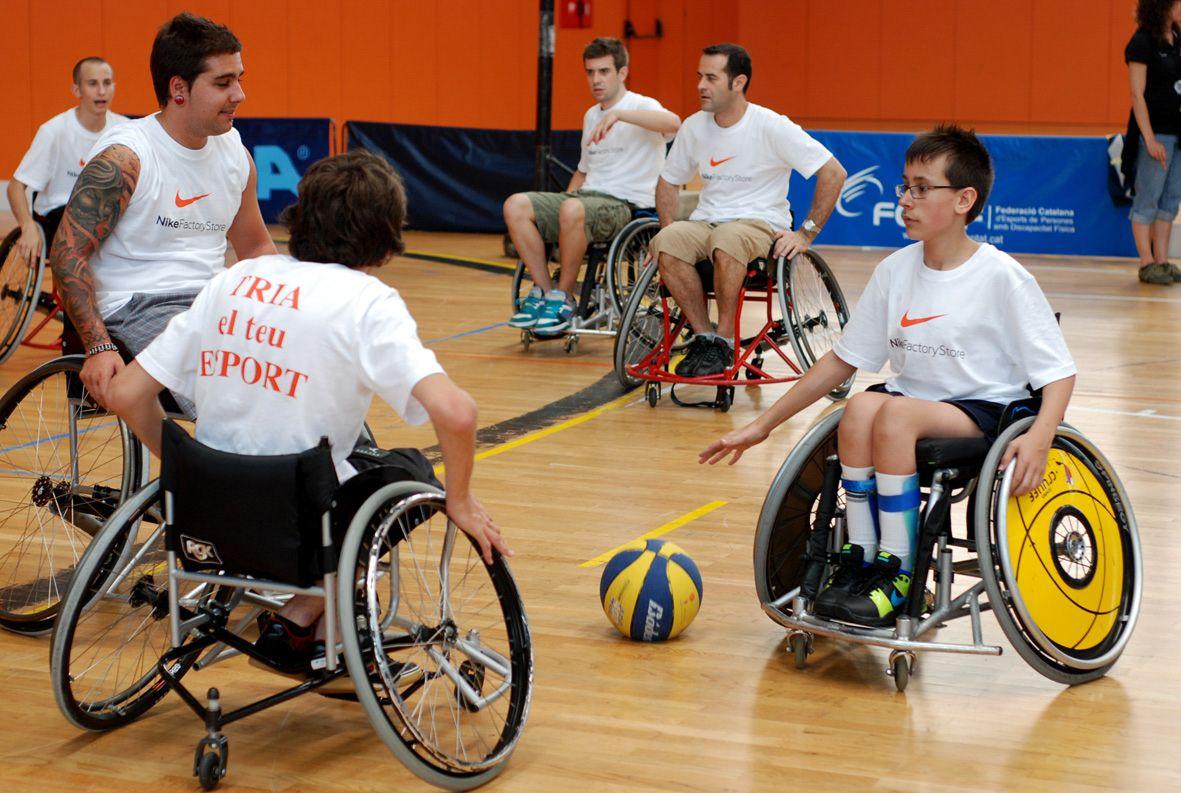 Tot un cap de setmana d'activitats per l'esport inclusiu