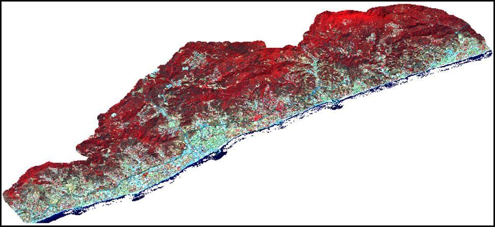Imatge satèl·lit del 2016.