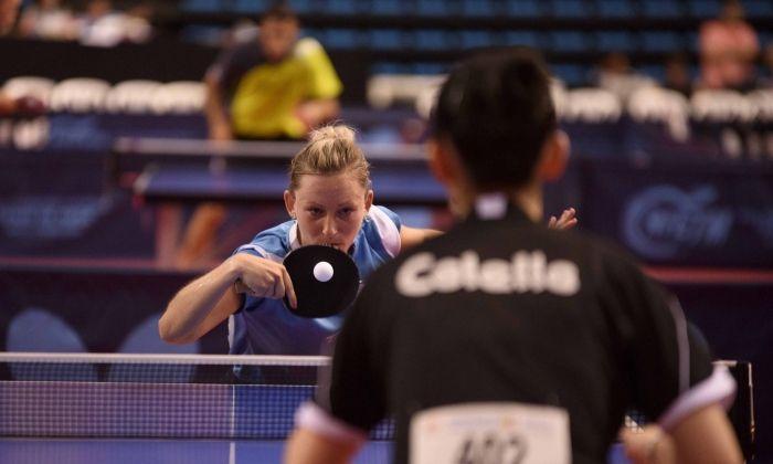 Gàlia Dvorak en una acció a les semifinals. Foto: RFETM