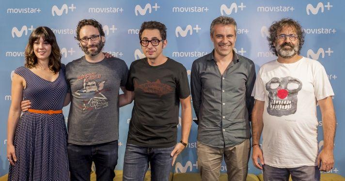 Protagonistes de la sèrie. Foto: El Terrat