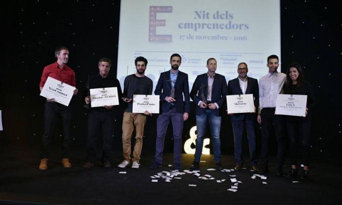 Els guanyadors d'una edició anterior dels Premis Creatic. Foto: TCM