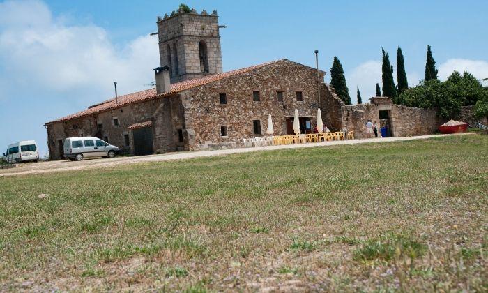 Imatge d'arxiu del santuari del Corredor.