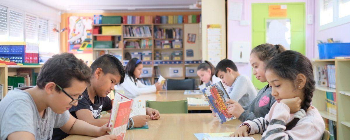 Alumnes d'una escola de Mataró. Foto: Arxiu