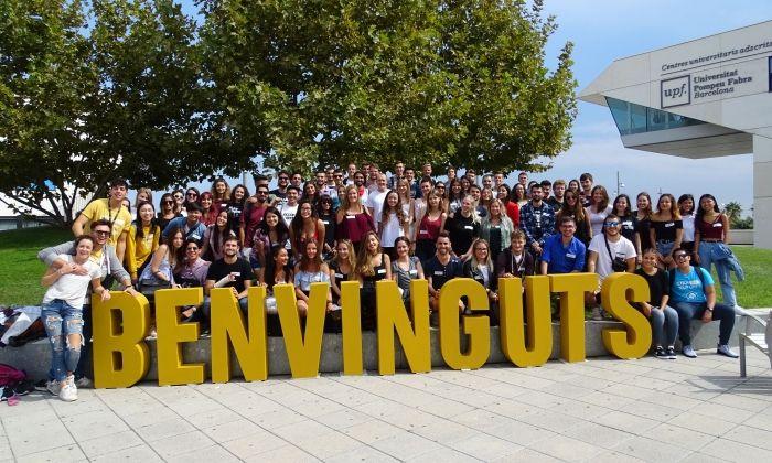 Benvinguda als estudiants estrangers d'aquest curs