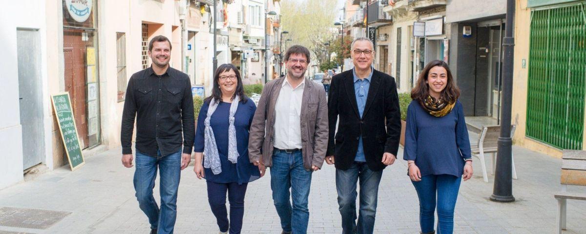 La candidatura del PSC a Argentona
