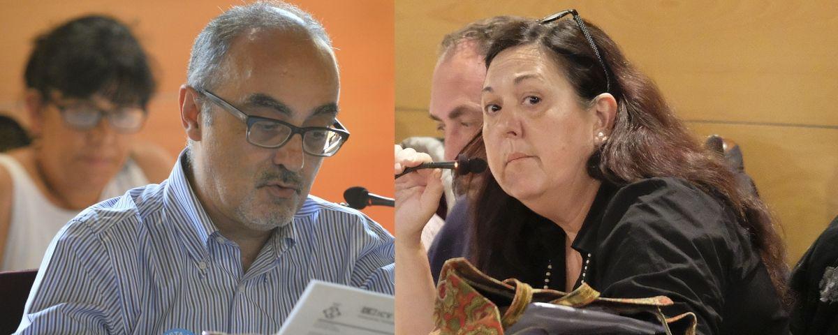 Martínez i Caballero. Fotos: R.Gallofré
