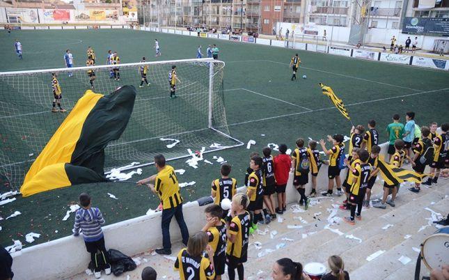 Una imatge de la grada aquesta temporada. Foto: cemataro.cat