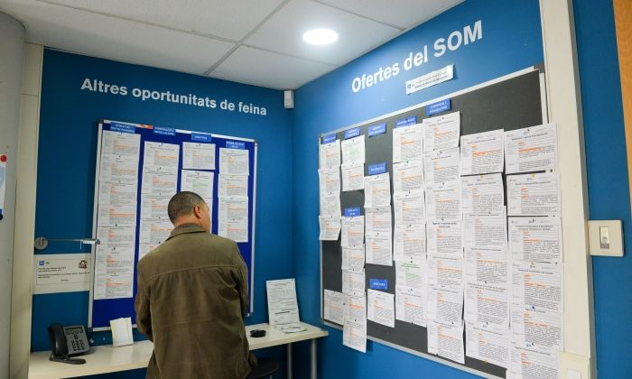 El Servei d'Ocupació de Mataró. Foto: R. G.