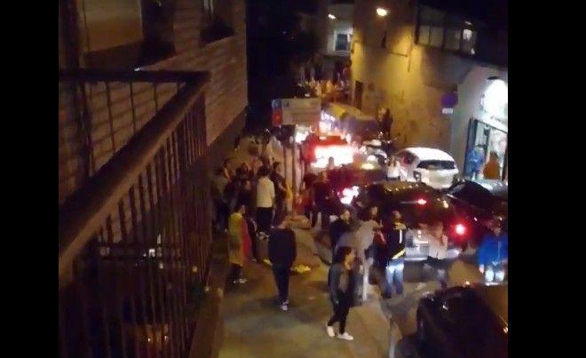 Fotograma d'un vídeo on es mostra l'atac