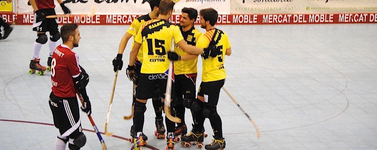 Una de les celebracions dels gols. Foto: CHM
