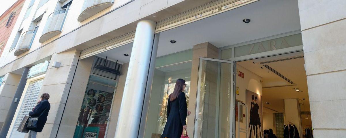 La botiga de Zara a La Riera. Foto: R. Gallofré