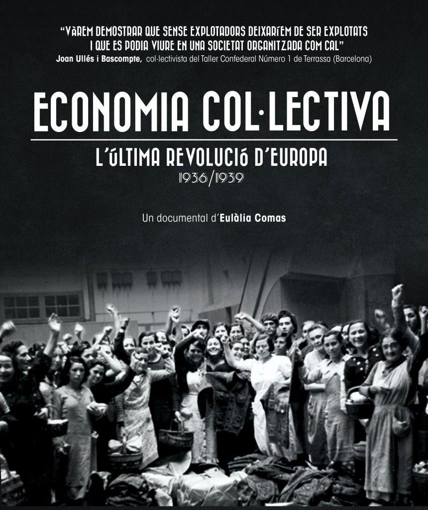 El documental 'Economía colectiva' se presenta a Buque de Libros