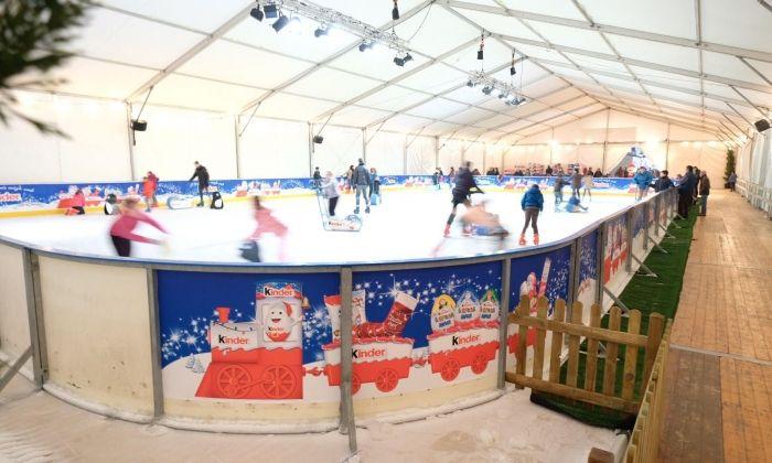 La pista, l'any passat. Foto: Kinder Ice