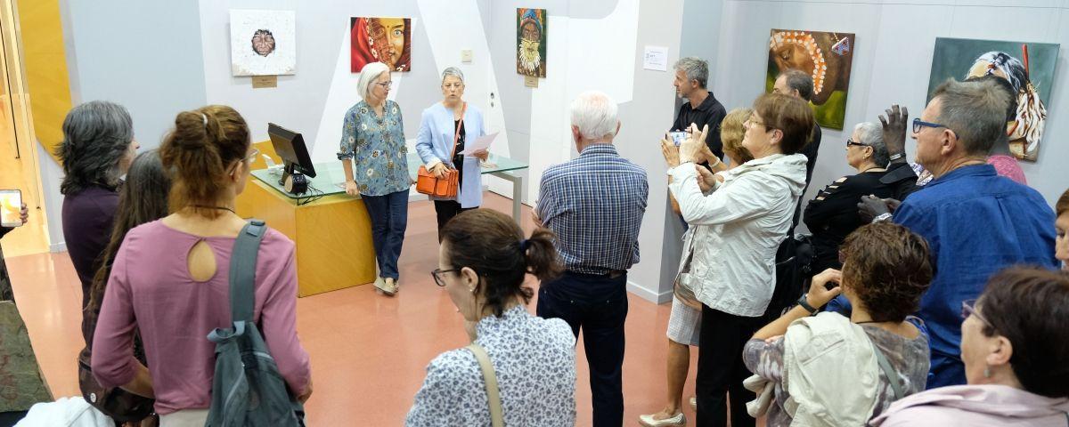 L'Espai Capgròs, en una inauguració. Foto: R. G.