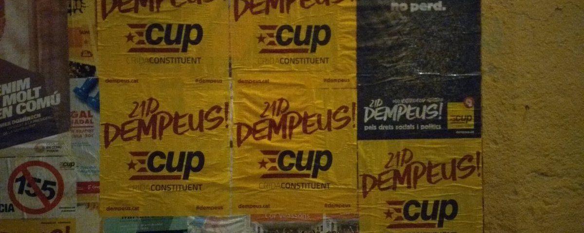 Cartells de la CUP