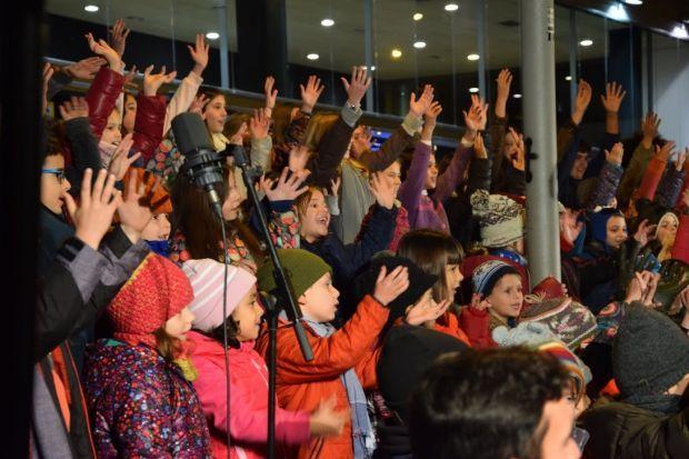 Cantada de nadales alumnes de l'EMMM