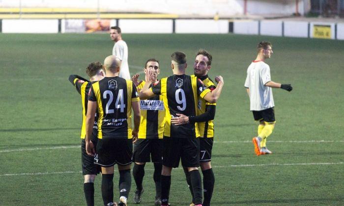 Futbol CE Mataró. Foto: Jennifer C.