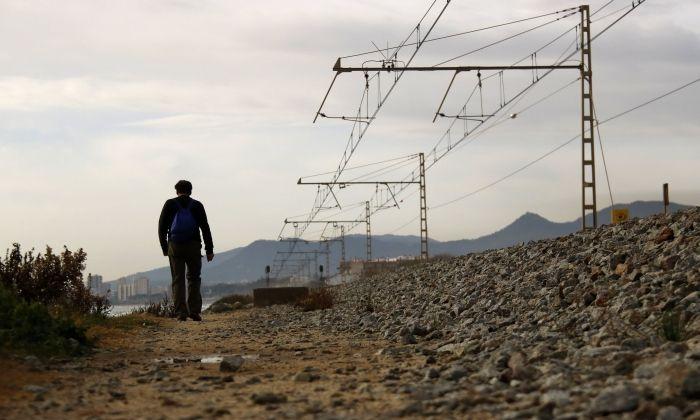 Entorns de l'estació de Llavaneres. Foto: ACN