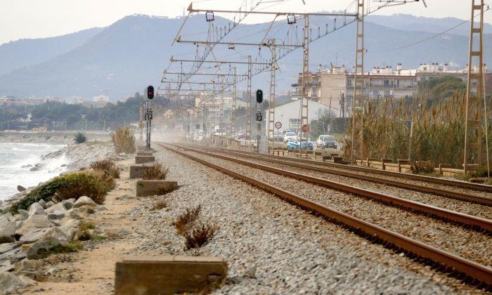 El camí que uneix Mataró i Llavaneres, on la dona va ser violada. Foto: ACN