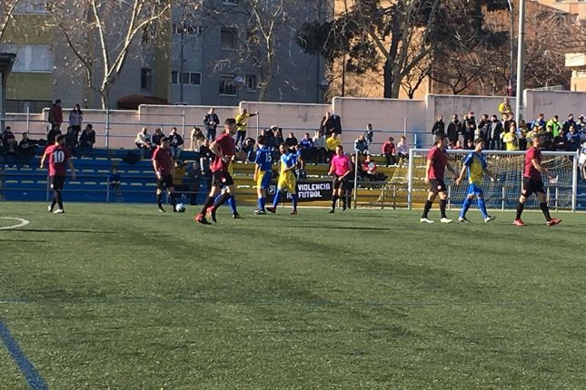 Un instant del matx. Foto: CE Mataró.