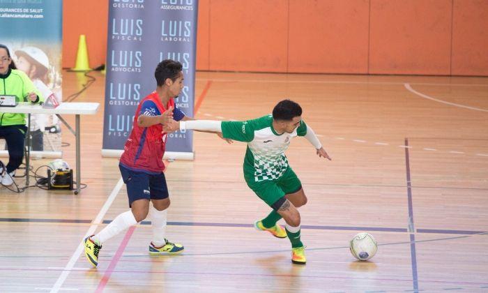Imatge d'arxiu del Futsal Mataró.