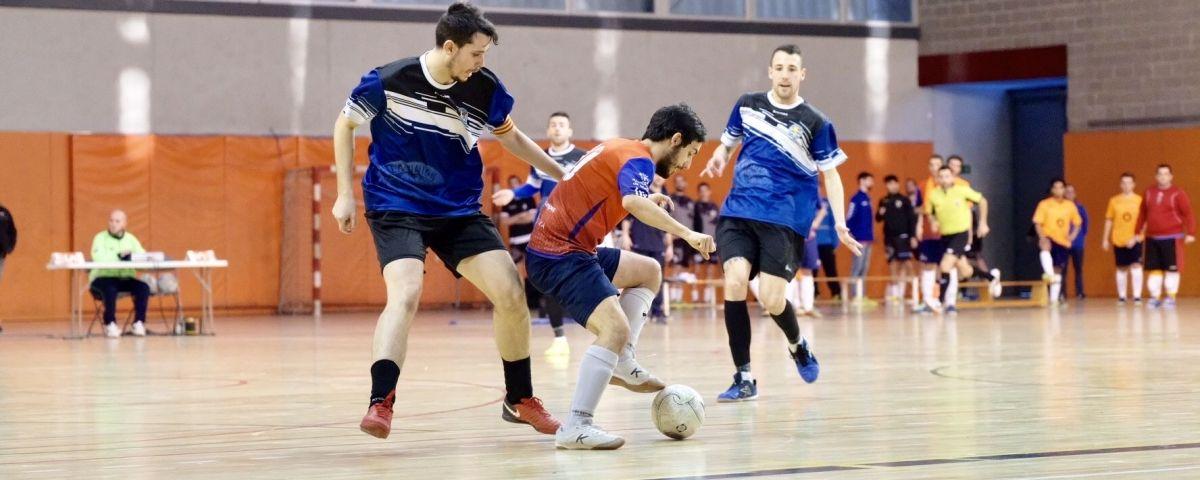Un partit d'aquesta temporada del Futsal Aliança Mataró.