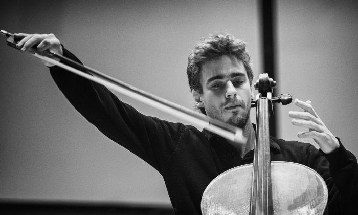 El violoncel·lista Pau Codina
