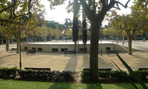L'escenari del Parc Central