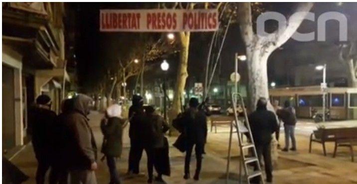 Fragment de vídeo que testimonia els fets. Foto: ACN