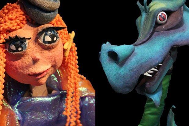 """""""La princesa i el drac"""", Sim Salabim"""