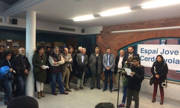 Inauguració de l'Espai Jove. Foto: Ajuntament de Mataró