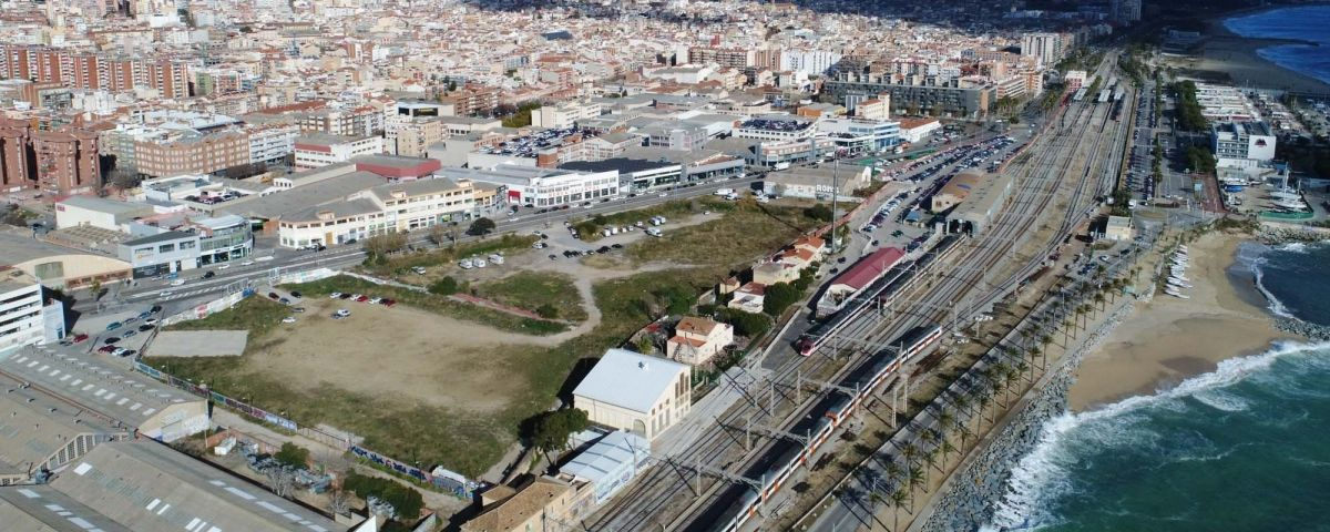 Vista aèria del sector d'Iveco-Pegaso. Foto: R. Gallofré
