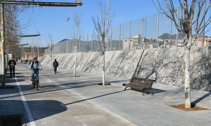 L'estat actual del mur. Foto: R. G.