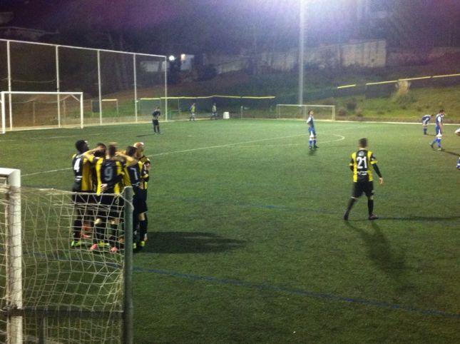 Celebració d'un dels gols. Foto: cemataro.cat
