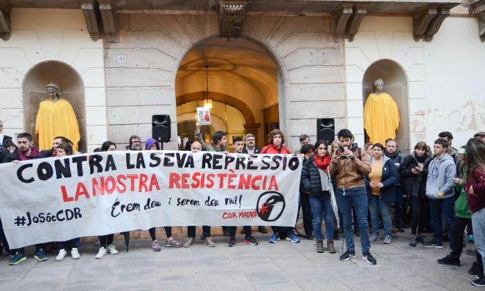 La manifestació de dimarts.
