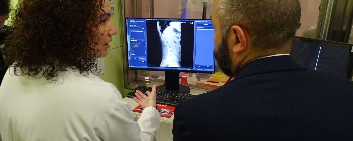 Un dels aparells incorporats a l'Hospital de Mataró.