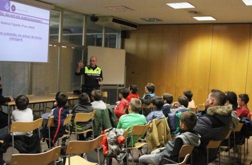 Una de les xerrades. Foto: Ajuntament de Mataró