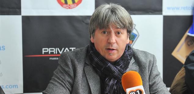 Fran Seijo, actual president del CE Mataró.