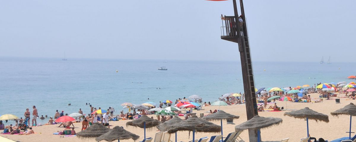 La platja del Varador en una imatge d'arxiu. Foto> R.Gallofre