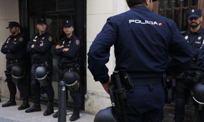 Escorcolls policials. Foto: ACN