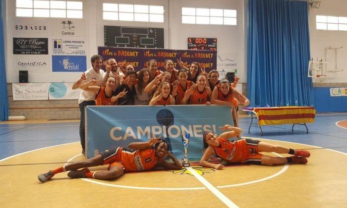 Campiones a Andratx. Foto: AE Boet