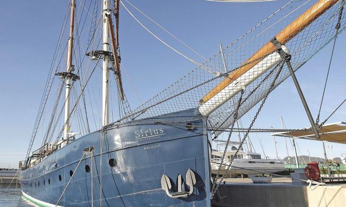 El Sirius, un dels vaixells que estarà present.